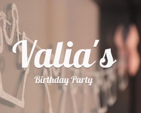 Valia's 7th Birthday Party